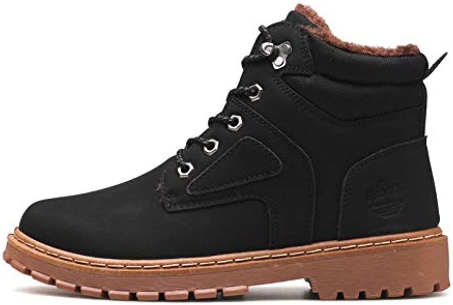 Shoes LOVDRAM Boots Mens Thicken Tooling Shoes MenS Shoes Winter Martin Boots Warm Autumn New MenS Casual Shoes Fashion Shoes & Bags
