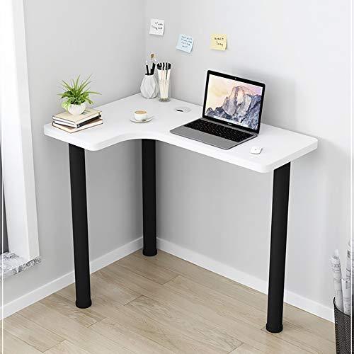 FXPCYGZ Table Scrivania Ad Angolo Scrivania per Computer Scrivania Ad Angolo per Ufficio Scrivania Ad Angolo Scrivania per Videogiochi Postazione di Lavoro Scrivania per Laptop Scrivania(B)