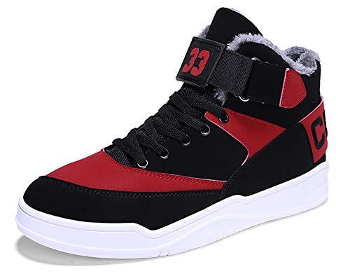 MUOU Zapatos Hombre Sneaker Deportivos Hombres Zapatos Casuales con Cordones Zapatillas Deporte Hombres de Moda