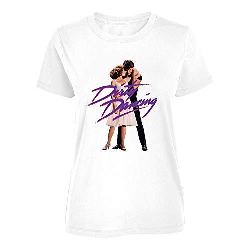Dirty Dancing - Danza Posa - T-Shirt Ufficiale Donna - Bianco, L