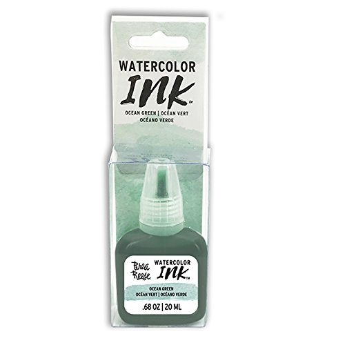 Brea Reese 30837 Watercolor Ink, Ocean Green