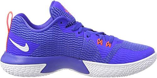 Nike Herren Zoom Live II Basketballschuhe, Blau (Racer Blue/White-Light Racer Blue 400), 42 EU
