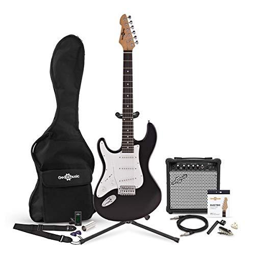 Set Completo de Guitarra Eléctrica LAZurda + Amplificador de 15 W