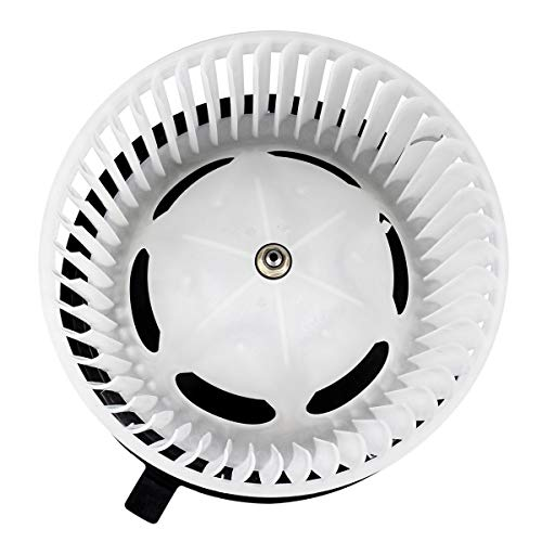 FAERSI A/C Heater Blower Motor with Fan Cage Compatible with Jeep Wrangler & TJ 2002-2006, Jeep Liberty 2002-2007 HVAC Blower Motor Assembly Replaces 700154, 5066553AA, 615-00680