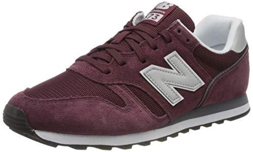 New Balance Herren ML373 Sneaker, Rot (Red/White Cd2), 43 EU