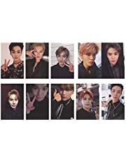 D 2020 Kpop NCT 127 NCT U NCT Dream Lomo Card Postcard 《SOMOS SUPERHUMANOS》 《NCT # 127 Regulate》 《Awaken》 Sticker Paintings Photo Hot Gift(H02-8.6 * 5.4cm/10pcs/set)