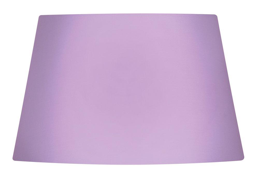 25 cm viola rosa Oaks Lightning Paralume in cotone