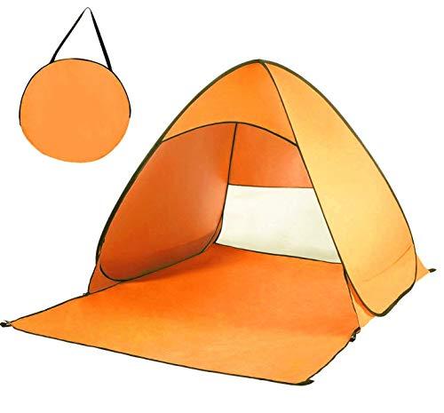 Qazxsw Refugios para el Sol de la Familia de la cabaña portátil instantánea automática al Aire Libre de la Tienda emergente