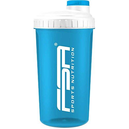 Shaker 700 ml, Preparador de batidos de proteínas y BCAA, libres de BPA y a prueba de vertidos, de la marca de deporte profesional FSA Nutrition - Turquesa