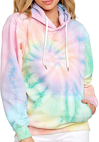 Hoodies for Women Pullover Graphic Funny Printed Solid Color Pockets Active Workout Autumn Hooded Sweatshirts