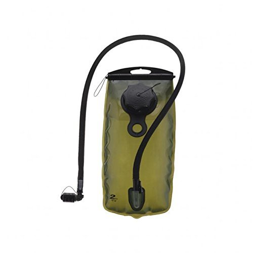 Source Tactical WXP 2-Liter Hydration Reservoir System with Storm Valve, Black by Source Tactical