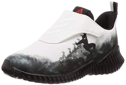 adidas Fortarun Spider-Man AC I, Zapatillas de Gimnasia Unisex niños, Negro (Core Black/FTWR White/Active Red Core Black/FTWR White/Active Red), 24 EU
