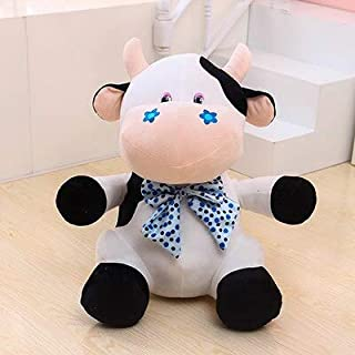 PUNIDAMAN Cute Doll Niuniu Small Cow Plush Toy Doll Doll Creative Pillow Birthday Gift to Send His Girlfriend Boy Must Haves Boy Girl Gifts Childrens Favourites Superhero Cake Topper LOL Unboxed