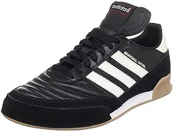 adidas Men s Soccer Mundial Goal Shoes Black/White/White 11.5 M US