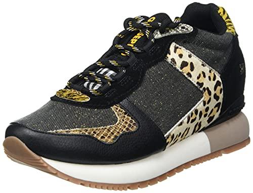 Sneakers con CUÑA Interna Mix DE Animal Print para Mujer KUNIA