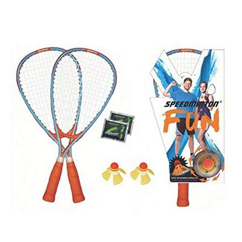 nobrand Speedminton Badminton Racket Fun Set Designed for Playing Speed Badminton Wherever You are