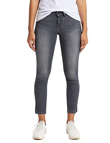 MUSTANG Damen Jasmin Jeggings 7/8 Slim Jeans, 4500-782 Dunkelgrau, 34 (Herstellergröße: 25/34)