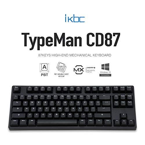iKBC CD87v2 Serie Cherry MX Clear