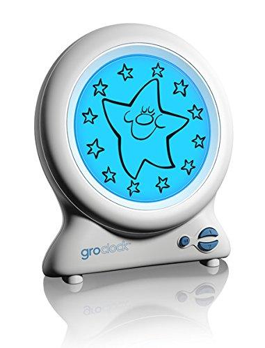 Gro HJ010 Gro-Clock slaaptrainer, geeft het verschil tussen dag en nacht, wit