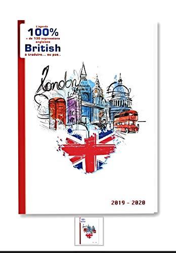 Agenda escolar 2019 2020 Londres 100% British London Love...