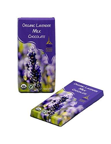 Pelindaba Organic Lavender Gourmet Milk Chocolate Bar - 41% Cocoa - 1.25 oz
