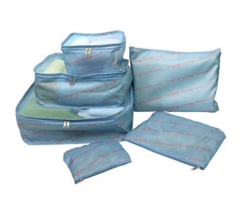 畑山商事 旅行用品・旅行小物 ブルーS 6点セット トラヘ゛ルホ゜ーチ S B 65190864