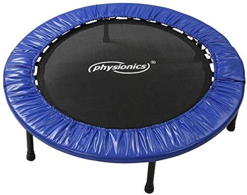Mini cama elástica y robusta para interior y exterior, diámetro a elegir (Ø 114 cm)