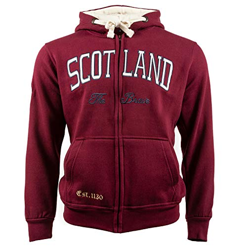 Le sweat à capuche Scotland The Brave Est. 1130