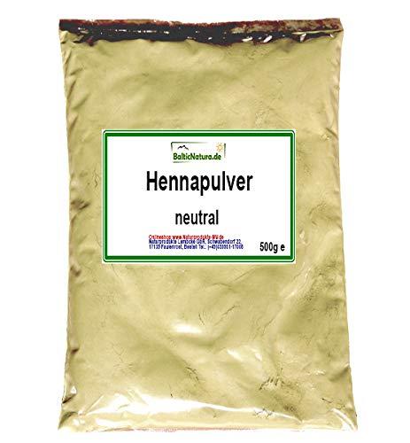 Henna Pulver neutral (500 g) Hennapulver Haarfarbe natürliche Haarpflege