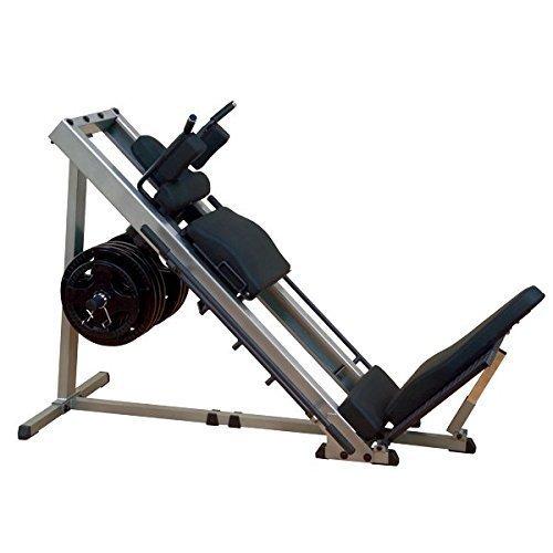 Body-Solid GLPH-1100 - Pressa gamba 45° Hackenschmidt 30 mm o 50 mm, LPH-1100, 30 mm...