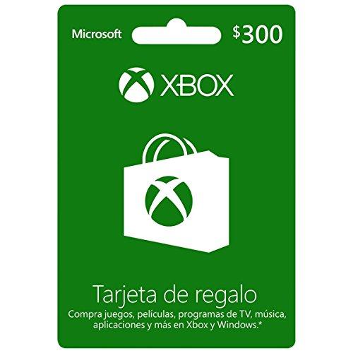 Tarjeta Xbox Live $300 MXN – Xbox One – Standard Edition