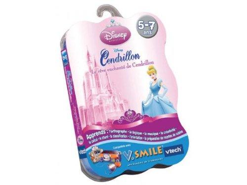 VTech – Spielkartusche V.Smile Cinderella – 92245