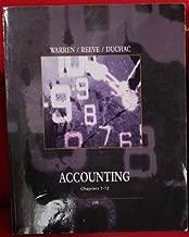 Accounting Chapters 1-12 Warren Reeve Duchac 22e