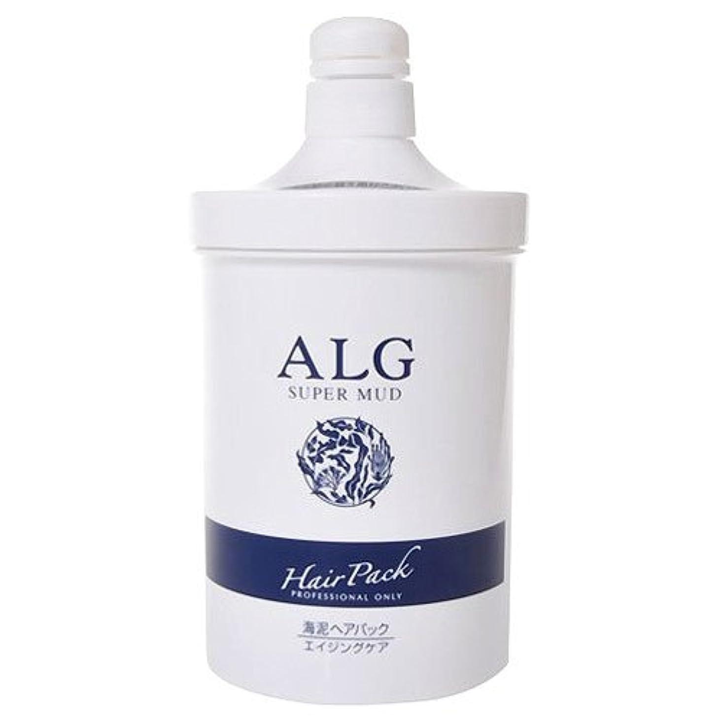 天腸苗アルグ スーパーマッドヘアパック M 1000g(ポンプ)