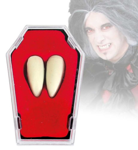 Déguisement de vampire dracula dents 58834 i.sarg, neuf/emballage d'origine