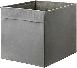 IKEA Drona Caja, Gris, 4 unidades