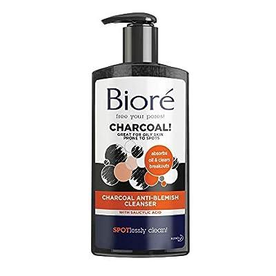 Biore Charcoal Anti Blemish Cleanser, 200 ml