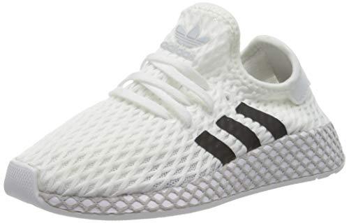 Adidas Deerupt Runner C, Zapatillas de Deporte Unisex niño, Blanco (Blanco 000), 31 EU