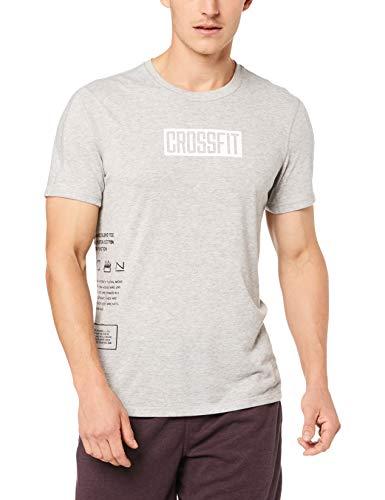Reebok RC Move tee Camiseta, Hombre, brgrin, L