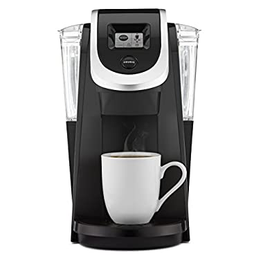 Keurig K250 Single Serve, K-Cup Pod Coffee Maker with Strength Control, Black