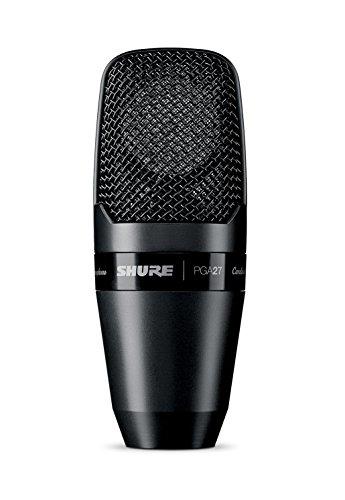 SHURE PGA27-LC - Micrófono de Condensador Cardioide, color Negro