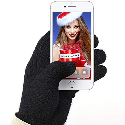 Gloviator Touchscreen Handschuhe für Smartphone und Handy Bedienung im Winter
