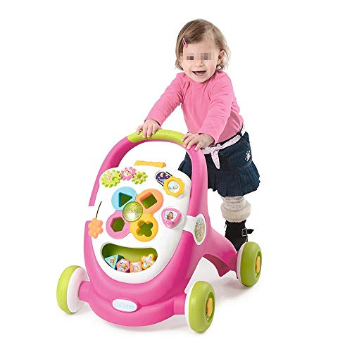 Review HANXIAODONG Baby Push Walker Girl&Boy Walker Toy Infant Game Music Cart Baby Multi-Function W...