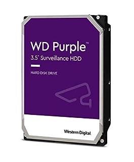 """Western Digital WD40PURZ WD Purple 4TB 3.5"""" Surveillance HDD 5400RPM 64MB SATA3 6Gb/s 150MB/s 180TBW 24x7 64 Cameras AV NVR DVR 1.5mil MTBF 3yrs (B071KVB4F8)   Amazon price tracker / tracking, Amazon price history charts, Amazon price watches, Amazon price drop alerts"""