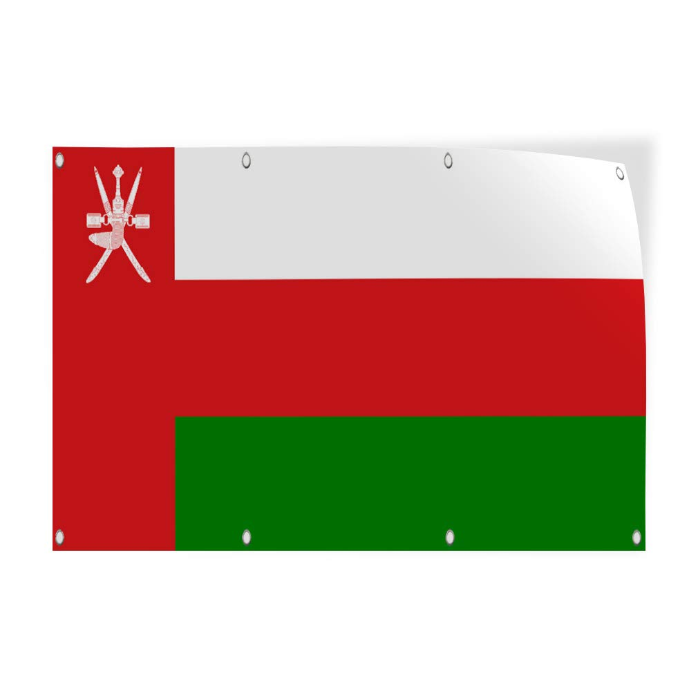 OMAN COUNTRY FLAGSTICKERDECALMULTIPLE STYLES TO CHOOSE FROM