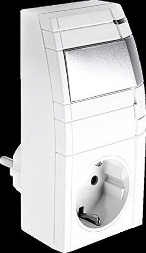 Telekom 99921816 - Netzstecker-Adapter (230 V, 50 Hz, Weiß, Male Connector/Female Connector, 63 mm, 41 mm)