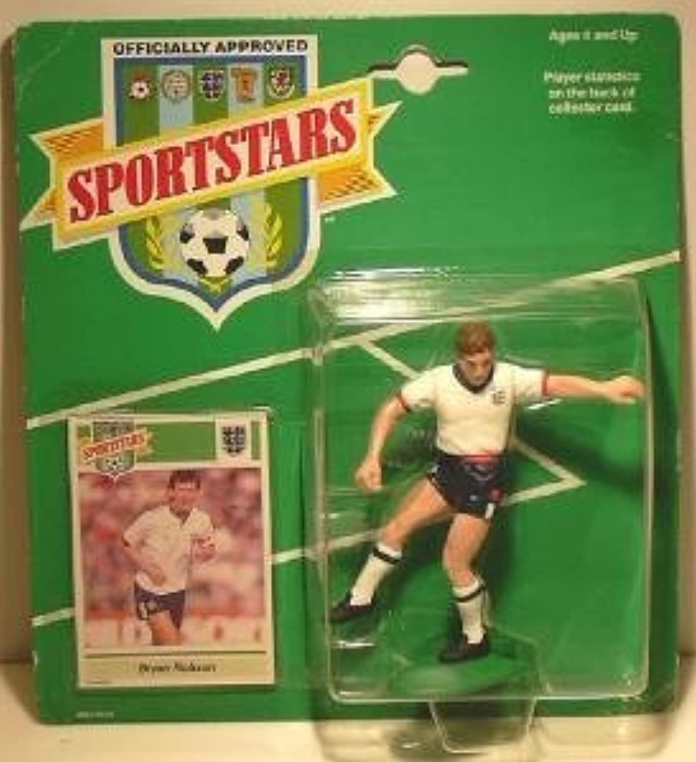 Sportstars (Starting Lineup) 1988  Bryan Robson  Football (Soccer) by Starting Line Up