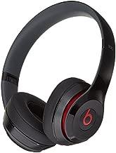 Beats Solo 2 WIRED On-Ear Headphone NOT WIRELESS - Black (Renewed)