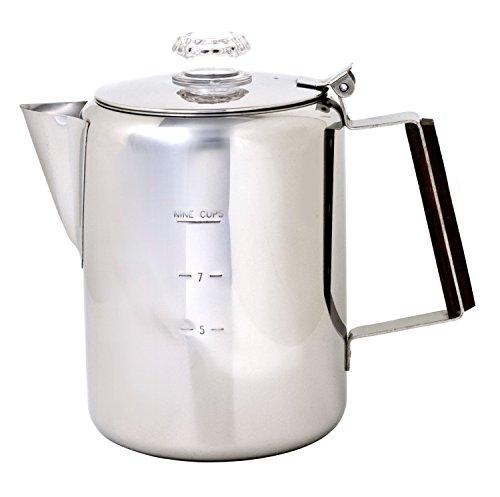 Chinook Timberline 9 Cup Stainless Steel Coffee Percolator [並行輸入品]