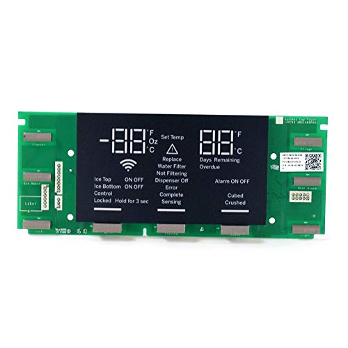 Price comparison product image GE WR55X26258 Refrigerator LCD Touch Screen Genuine Original Equipment Manufacturer (OEM) Part